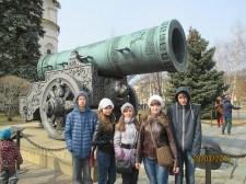 """учащиеся школы № 28 посетили Москву по программе Металлоинвеста """"Наша смена"""""""