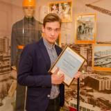 Победитель в номинациях «Лучший лозунг» и «Лучший логотип» Дмитрий Мартынов