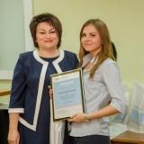 Победительница в номинации «Лучший плакат» Валерия Капустина