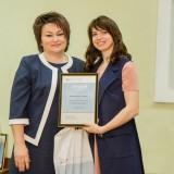 Алина Коваленко, победительница в номинации «Лучший плакат»