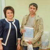 Бронзовый призер в номинации «Лучший плакат» Андрей Котлубаев