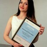 Екатерина Иванишина, победительница в номинации «Лучший логотип»