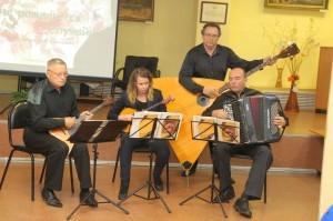 Квартет оркестра русских народных инструментов ДК «Молодёжный»