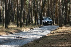 Малявинка_Лесная дорога к СНТ Малявинка раньше была с глубокими ямами (Копировать)