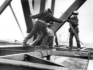 Монтаж печей металлизации ОЭМК 1980 год