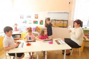 """Ментальная арифметика в  детском саду № 15 """"Дюймовочка"""""""