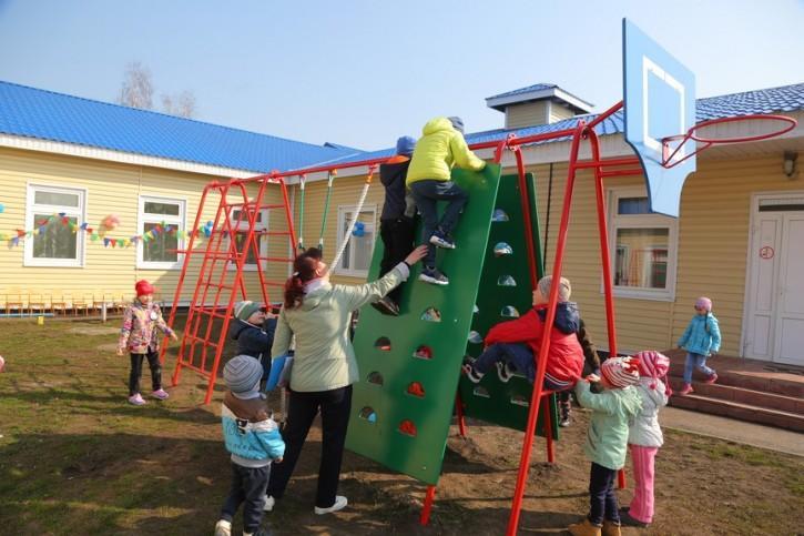 В сорокинском детском саду «Золотой ключик»
