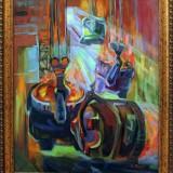 Пылающие ковши. Маркова Е.М. 2019 г., холст, масло, 65,5х80,5