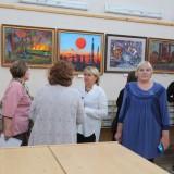 открытие выставки в библиотеке (1)
