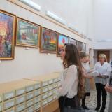 открытие выставки в библиотеке (2)
