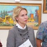 открытие выставки в библиотеке (27)