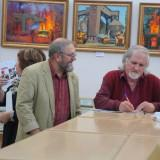 открытие выставки в библиотеке (3)