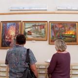 открытие выставки в библиотеке (39)