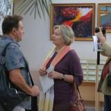 открытие выставки в библиотеке (4)