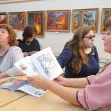 открытие выставки в библиотеке (6)